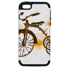 Tree Cycle Apple Iphone 5 Hardshell Case (pc+silicone) by Contest1753604