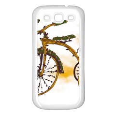 Tree Cycle Samsung Galaxy S3 Back Case (white)