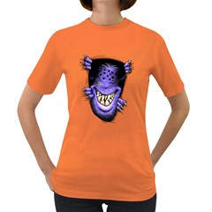 Hello   I m Purple Womens' T Shirt (colored) by Contest1754937