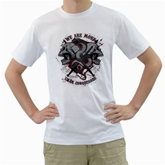 We Are More Mens  T Shirt (white) by Contest993860
