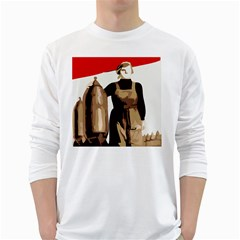 Power  To The Masses Long Sleeve T Shirt by youshidesign