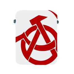 Hammer Sickle Anarchy Apple Ipad 2/3/4 Protective Soft Case by youshidesign