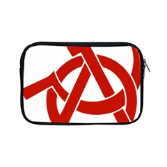 Hammer Sickle Anarchy Apple Ipad Mini Zipper Case by youshidesign
