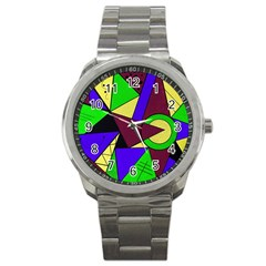 Modern Sport Metal Watch