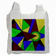 Modern Recycle Bag (one Side) by Siebenhuehner