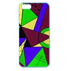 Modern Apple Seamless Iphone 5 Case (color) by Siebenhuehner
