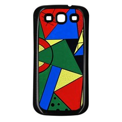 Modern Art Samsung Galaxy S3 Back Case (black) by Siebenhuehner