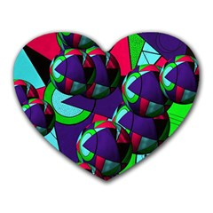 Balls Mouse Pad (heart) by Siebenhuehner