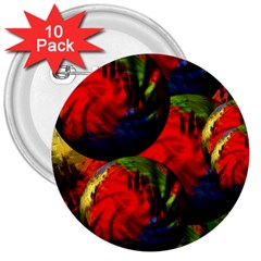 Balls 3  Button (10 Pack) by Siebenhuehner