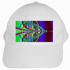 Design White Baseball Cap by Siebenhuehner