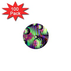 Balls 1  Mini Button Magnet (100 Pack) by Siebenhuehner