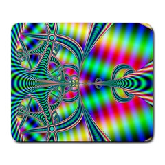 Modern Art Large Mouse Pad (rectangle) by Siebenhuehner