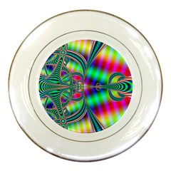 Modern Art Porcelain Display Plate by Siebenhuehner