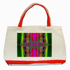 Modern Art Classic Tote Bag (red) by Siebenhuehner