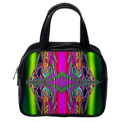 Modern Art Classic Handbag (one Side) by Siebenhuehner
