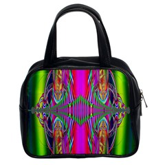 Modern Art Classic Handbag (two Sides) by Siebenhuehner