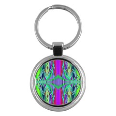 Modern Design Key Chain (round) by Siebenhuehner