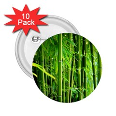 Bamboo 2 25  Button (10 Pack)