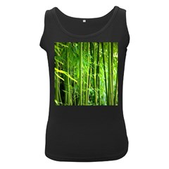 Bamboo Womens  Tank Top (black)