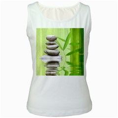 Balance Womens  Tank Top (white) by Siebenhuehner