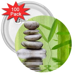 Balance 3  Button (100 Pack)