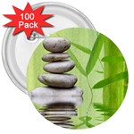 Balance 3  Button (100 pack) Front