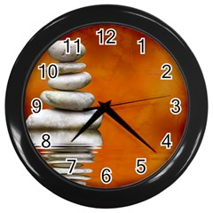 Balance Wall Clock (black) by Siebenhuehner