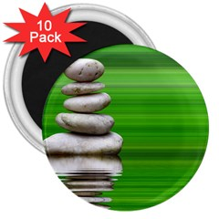 Balance 3  Button Magnet (10 Pack) by Siebenhuehner