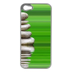 Balance Apple Iphone 5 Case (silver) by Siebenhuehner