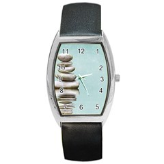 Balance Tonneau Leather Watch