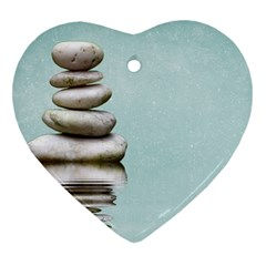 Balance Heart Ornament (two Sides) by Siebenhuehner