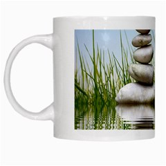 Balance White Coffee Mug