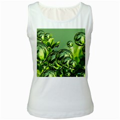 Magic Balls Womens  Tank Top (white)