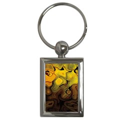 Modern Art Key Chain (rectangle) by Siebenhuehner