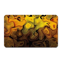 Modern Art Magnet (rectangular) by Siebenhuehner