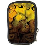 Modern Art Compact Camera Leather Case Front