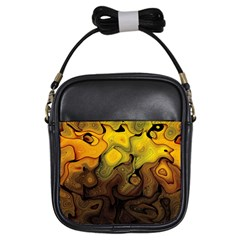 Modern Art Girl s Sling Bag by Siebenhuehner