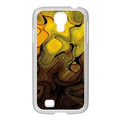 Modern Art Samsung Galaxy S4 I9500/ I9505 Case (white) by Siebenhuehner
