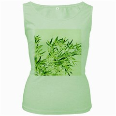 Bamboo Womens  Tank Top (green) by Siebenhuehner