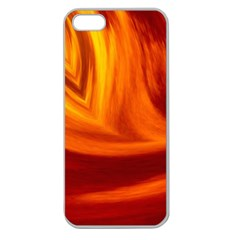 Wave Apple Seamless Iphone 5 Case (clear) by Siebenhuehner