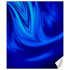 Wave Canvas 8  X 10  (unframed) by Siebenhuehner