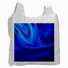 Wave Recycle Bag (one Side) by Siebenhuehner
