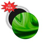 Wave 2.25  Button Magnet (10 pack) Front