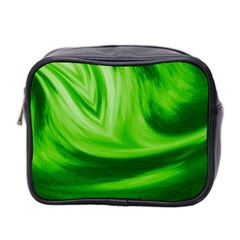 Wave Mini Travel Toiletry Bag (two Sides) by Siebenhuehner