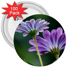 Flower 3  Button (100 Pack) by Siebenhuehner