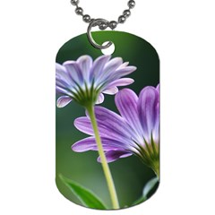 Flower Dog Tag (one Sided)