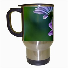 Flower Travel Mug (white) by Siebenhuehner