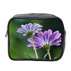 Flower Mini Travel Toiletry Bag (two Sides) by Siebenhuehner