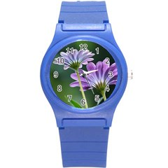 Flower Plastic Sport Watch (small) by Siebenhuehner