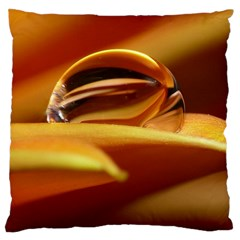 Waterdrop Large Cushion Case (single Sided)  by Siebenhuehner